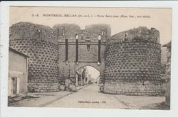 MONTREUIL BELLAY - MAINE ET LOIRE - PORTE SAINT JEAN - Montreuil Bellay