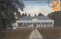 Vonèche - Les Serres Du Château (animée, Colorisée, Edit. Quinet Collée 1913) - Beauraing