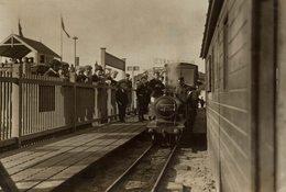 BLACKPOOL MINIATURE RAILWAY  CHEMIN DE FER EISENBAHN 15*11CM Fonds Victor FORBIN 1864-1947 - Trenes