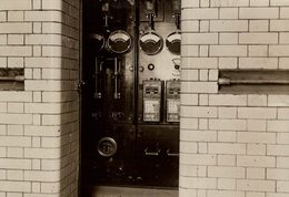 KINGSWAY UNDERGROUND TRAMWAY METRO  RAILWAY CHEMIN DE FER EISENBAHN 15*11CM Fonds Victor FORBIN 1864-1947 - Trenes