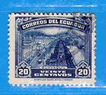 Ecuador °- 1942-44 - GUAYAQUIL.  Yvert. 408  -    . Used. - Ecuador