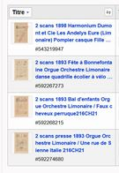 Limo-naire Lot  216CH21 - Old Paper
