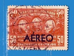 Ecuador °- 1936 - AEREO.  Yvert. 43  -  Used. - Ecuador