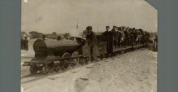 SEE CORNER BLACKPOOL MODEL RAILWAY RAILWAY CHEMIN DE FER EISENBAHN 16*12CM Fonds Victor FORBIN 1864-1947 - Trenes