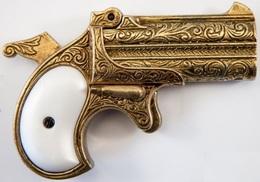 DENIX DERRINGER PISTOL, ÉTATS-UNIS D'AMÉRIQUE 1866 13,5 Cm 300 G 1262L07 - Armes Neutralisées