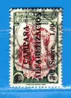 Ecuador °- 1951 - ALFABETIZACION.  Yvert. 226  -  Used. - Ecuador