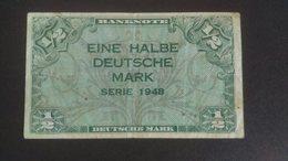 Germany 1948: ½ Deutsche Mark - [ 5] 1945-1949 : Allies Occupation
