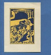 Superbe Ex Libris Firmin GEMIER Gravure Bois Couleur Acteur Metteur Scene THEATRE Pottecher Appel Sirènes Marionnettes - Ex-libris