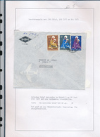 BELGIAN CONGO MADONNA INLAND COVER FROM MATADI TO LEO. 28.06.60 - Belgisch-Kongo