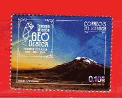 Ecuador °- 2016 - Tercera Mision GEODESIC France – Ecuador .  -  Used. - Ecuador