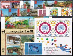 UNO GENF 2001 Mi-Nr. 409-32 Kompletter Jahrgang/complete Year Set ** MNH - Ginevra - Ufficio Delle Nazioni Unite