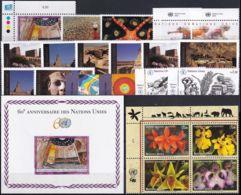 UNO GENF 2005 Mi-Nr. 508-29 Kompletter Jahrgang/complete Year Set ** MNH - Ginevra - Ufficio Delle Nazioni Unite