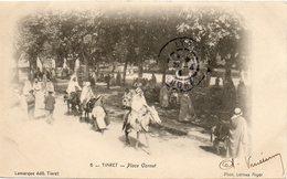 ALGERIE - 6 - TIARET - Place Carnot - Lamarque édit. Tiaret - Phot. Leroux Alger  - - Algiers