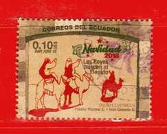 Ecuador °- 2018 - Natale - Noel - Christmas .  -  Used. - Ecuador
