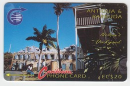 Antigua & Barbuda GPT Phonecard (Fine Used) Code 6CATB - Antigua En Barbuda