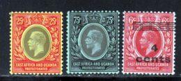 Afrique Orientale 1919 Yvert 139 - 141 - 155 ** TB - Kenya, Uganda & Tanganyika