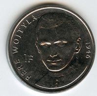 Congo 1 Franc 2004 Pape Jean Paul II Pope John Paul II - Prêtre Wojtyla 1946 UNC KM 156 - Congo (República Democrática 1998)