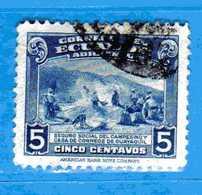 Ecuador °- 1940-43 - Bienfaisance- BERGERS. Yvert. 20.  -  Used. - Ecuador