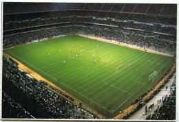 Postcard Stadium Madrid Bernabeu Stadion Stadio - Estadio - Stade - Sports - Football - Football