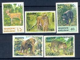 B143- Bangladesh, Wildlife, Tiger, Bear, Dear, Zebra, Elephant & Leopard. Animals. - Bangladesh