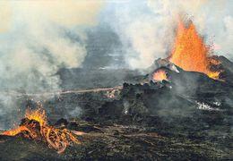 1 AK Island Iceland * Ausbruch Im Lavafeld Holuhraun 2014 Nördlich Des Vatnajökull Gletschers * - Island