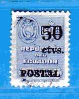 Ecuador °- 1951 - Timbres Consulaire. Yvert. 542.  -  Used. - Ecuador
