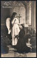 C6956 - Engel Angel Schutzengel - Hübsches Junges Mädchen Mit Langen Haaren - Mode Frisur - Pretty Young Girl - Engel