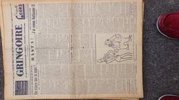 GRINGOIRE - 2 FEVRIER 1939- N° 534-JOURNAL WW2 PRESSE HEBDO- PARIS-HITLER-BERAUD-TARDIEU-RECOULY-RIEFENSTHAL-MAGINOT- - Français