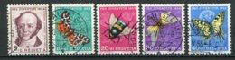 14163 SUISSE  N° 553/7 °  Série Pro Juventute  1954   TB - Pro Juventute