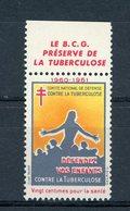 CONTRE LA TUBERCULOSE 1960/61 ** - Antituberculeux