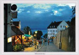 1 AK Germany Baden-Württemberg * Meersburg Am Abend - Blick Von Der Steigstraße Auf Den See * - Meersburg