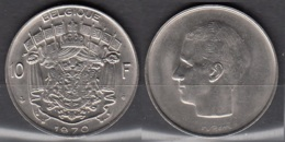 Belgique 1970 Pièce De 10 Francs Baudouin Circulé - 1951-1993: Baudouin I