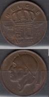 Belgique 1979 Pièce De 0.50 Francs Mineur Circulé - 1951-1993: Baudouin I