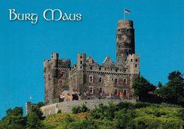 1 AK Germany * Burg Maus über Dem Ort Wellmich Am Rhein - Erbaut Im 14. Jh. - Seit 2002 UNESCO Weltkulturerbe * - Germania