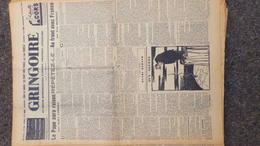 GRINGOIRE -16 FEVRIER 1939- N° 536-JOURNAL WW2 PRESSE HEBDO- PARIS- BERAUD-TARDIEU-DEGRELLE-BOUCARD-BEETHOVEN - Français