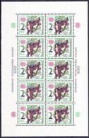 ** Tchécoslovaquie 1976 Mi 2339 I Klb. (Yv 2175) Le Feuille, (MNH) - Ungebraucht