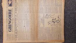 GRINGOIRE -6 JUILLET 1939-N° 556-JOURNAL WW2 PRESSE HEBDO-PARIS-BERAUD-TARDIEU-RECOULY-HITLER-TURQUIE-DANTAZIG-GAMELIN - Revues & Journaux