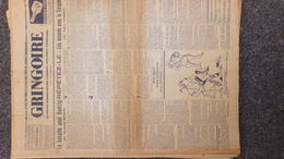 GRINGOIRE -6 JUILLET 1939-N° 556-JOURNAL WW2 PRESSE HEBDO-PARIS-BERAUD-TARDIEU-RECOULY-HITLER-TURQUIE-DANTAZIG-GAMELIN - Français
