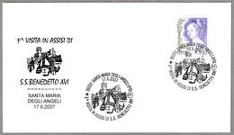 1ª VISITA A ASSIS DE BENEDICTO XVI. Santa Maria Degli Angeli, Perugia, 2007 - Papas