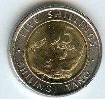 Kenya 5 Shillings 2018 Rhinocéros UNC - Kenia