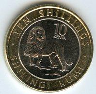 Kenya 10 Shillings 2018 Lion UNC - Kenia