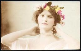 C6960 - Porträt - Hübsches Junges Mädchen - Mode Frisur - Pretty Young Girl - Coloriert - Fotografie