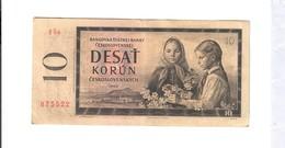 Cecoslovacchia 10 Korun 1960 Lotto.2686 - Cecoslovacchia