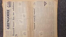 GRINGOIRE -13 JUILLET 1939-N° 557-JOURNAL WW2 PRESSE HEBDO-PARIS-BERAUD-TARDIEU-STALINE-HITLER-URSS- AVIATION - Français