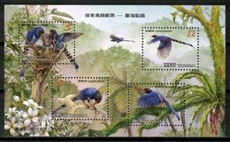 China Taiwan 2008 / Birds MNH Aves Vögel Oiseaux / Cu14323  4-31 - Pájaros