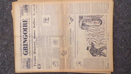 GRINGOIRE -20 JUILLET 1939-N° 558-JOURNAL WW2 PRESSE HEBDO-PARIS-BERAUD-TARDIEU-STALINE-HITLER-THOREZ-MAGINOT - Revues & Journaux