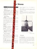 Gemeente De Moeren  - Org. Knipsel Uit Magazine 1958 - Geschiedenis - Folklore - Nijverheid - Handel - Vieux Papiers