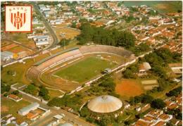 Postcard Stadium Bauru Brazil E.C. Noroeste Stadion Stadio - Estadio - Stade - Football - Fussball
