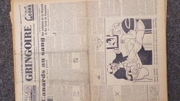 GRINGOIRE -27 JUILLET 1939-N° 559-JOURNAL WW2 PRESSE HEBDO-PARIS-BERAUD-TARDIEU-STALINE-HITLER-DUCLOS-ROUMANIE-RECOULY - Français