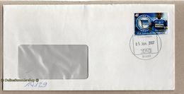 BRD - Privatpost - PIN - Umschlag Mit - Fußball Hertha BSC - Marcelinho - Fussball